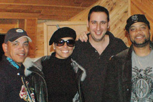 Alicia Keys, Ricky Minor, Crucial Keys, and Paul Lapinski